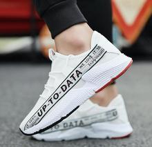 Delocrd schoenen mannen streetwear sneakers zapatillas hombre chaussure hip hop air mesh tot data casual schoenen