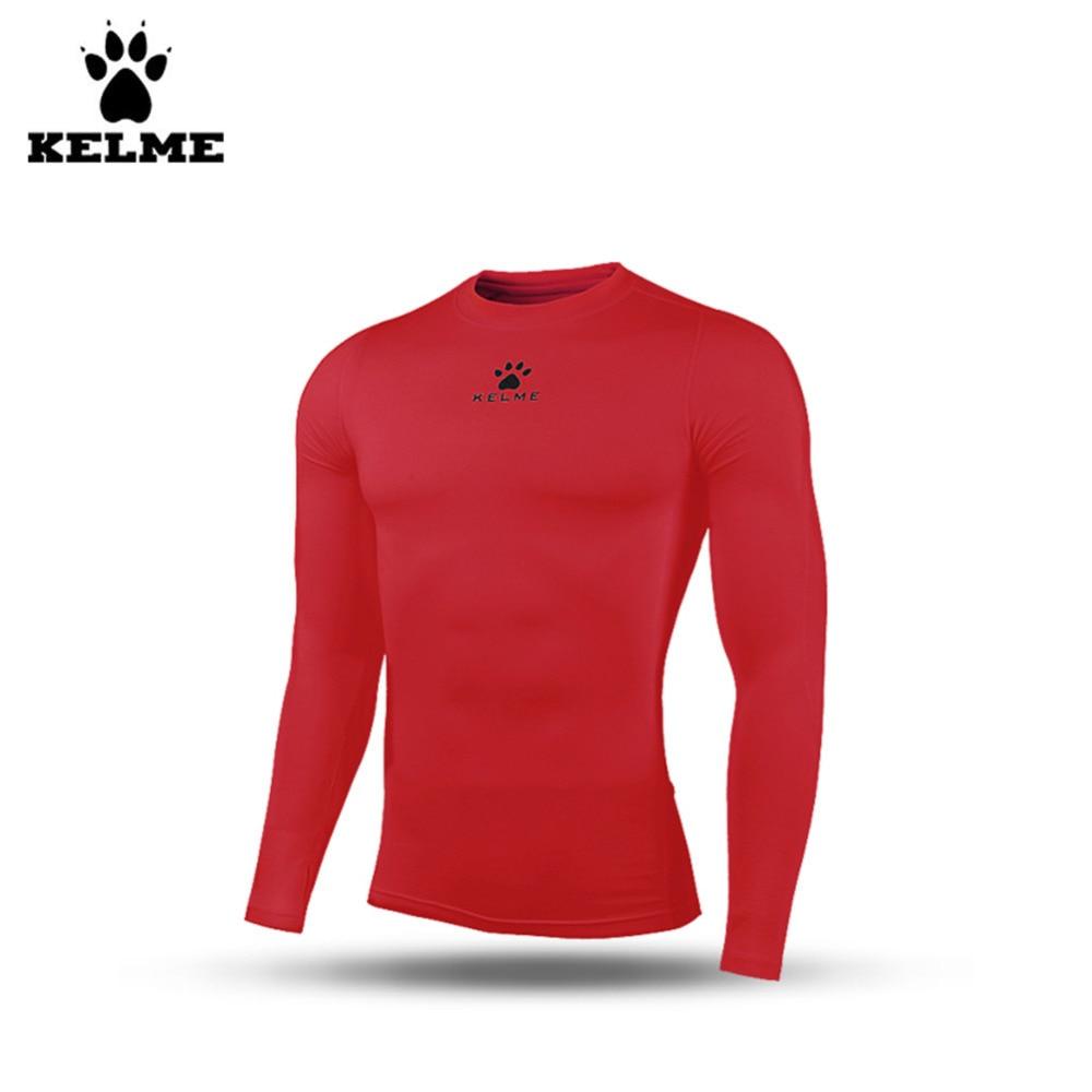 ФОТО Kelme K15Z735 Kids Plus Thick Velvet Long Sleeve Breathable Straitjacket Red