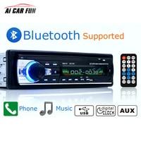 Autoradio 12V Bluetooth V2.0 Car Radio JSD520 Car Stereo In dash 1 Din FM Aux Input Receiver SD USB MP3 MMC WMA Car Radio Player