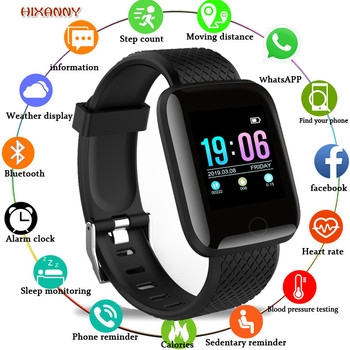 2019hot Smart Watch Men Blood Pressure Waterproof Smartwatch Women Heart Rate Monitor Fitness Tracker Watch Sport For AndroidIOS xanes a6s