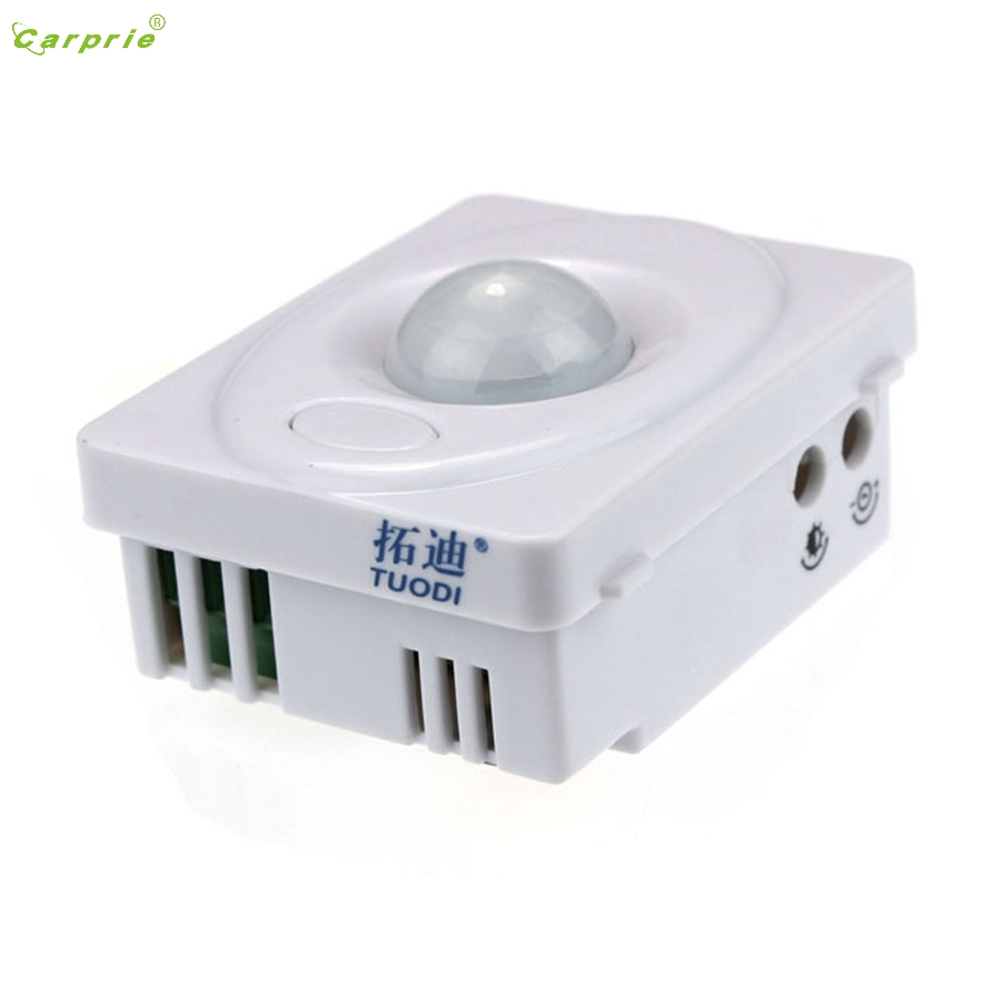 CARPRIE DC 12V Automatic IR Infrared PIR Motion Sensor Switch LED For Light Lamp L7120 DROP SHIP sensor automatic light lamp ir infrared motion control switch energy saving y103