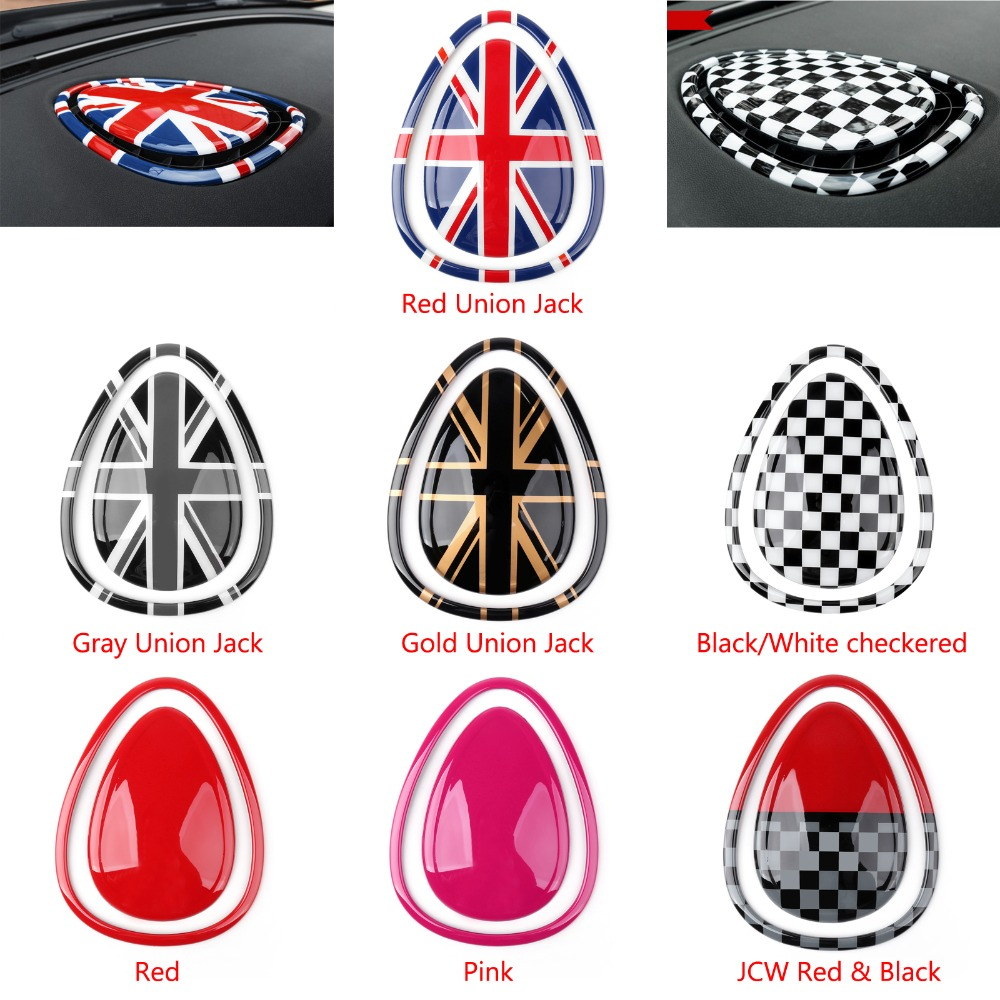 Areyourshop Car Interior Center Air Con Outlet Cover For MINI Cooper/S F54 F55 F56 F57 ABS plastic Car Styling Covers 6 colors soft tpu car key case cover holder suitable for mini cooper clubman f56 f55 f54 key car interior accessories for girls