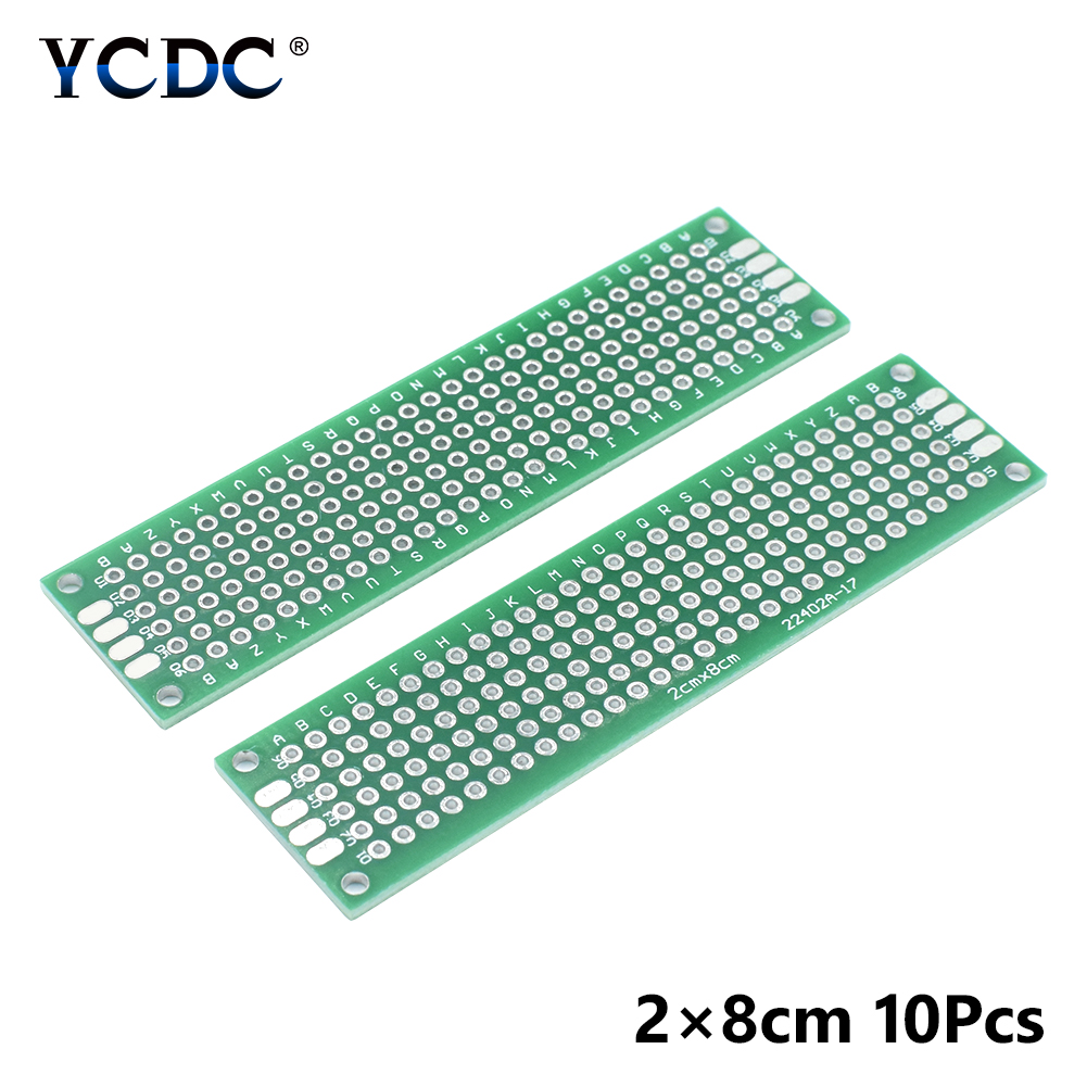 Prototyping Pcb Circuit Board Universal For Electronic Diy Projects Pic 5 10pcs In Circuits From Consumer Electronics On Alibaba Group
