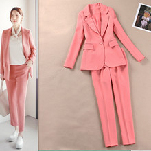 Fashion women's 2019 spring and summer new casual suits set