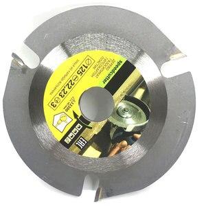 Image 3 - 125mm 3T hoja de sierra Circular multiherramienta amoladora Sierra disco de carburo con punta de madera disco de corte herramienta de tallado cuchillas multiherramienta