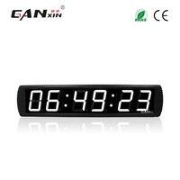 [Ganxin]4 alarm clock digital countdown timer led wall clock