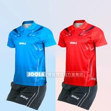 JOOLA stół tenis garnitur mężczyźni i kobiety strój strój kąpielowy stół tenis kombinezon oddychający Koszulka z krótkim rękawem tanie tanio Mężczyzn Pasuje do rozmiaru Weź swój normalny rozmiar