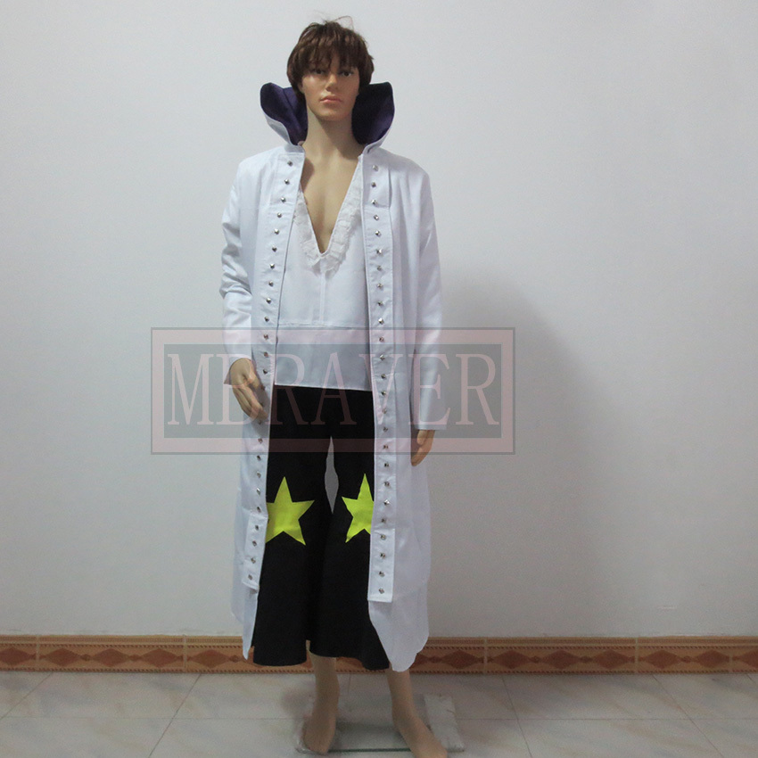 One Piece Cosplay Cavendish Customized Uniforms Cosplay Costume