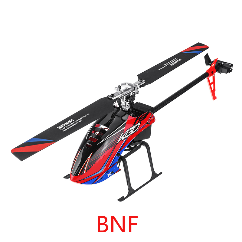 (In Stock) Original XK K130 BNF Version 6CH Brushless RC Helicopter (Without Transmitter ) Compatible with FUTABA S-FHSS