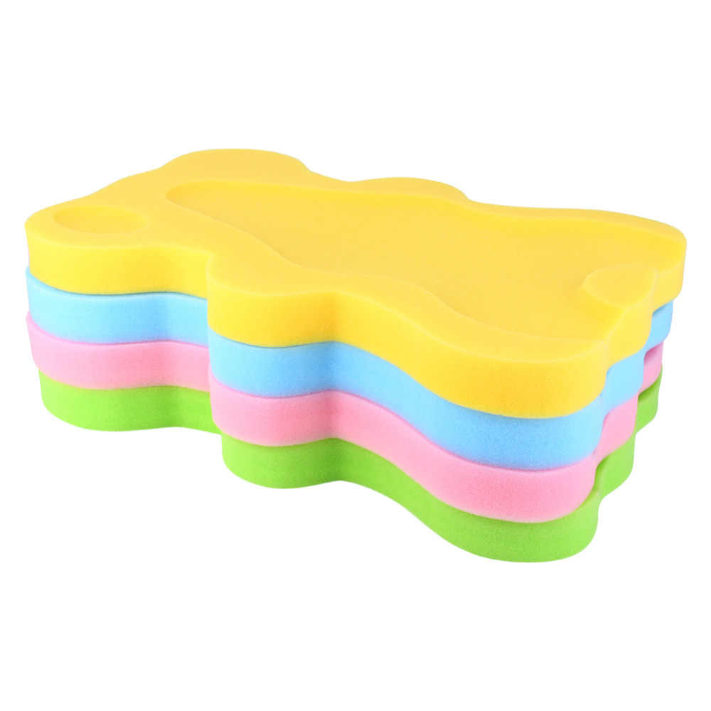 e86fada6f0fb ... Baby Bath Seat Infant Non Slip Soft Bath Foam Pad Mat Body Cushion  Sponge Non- ...