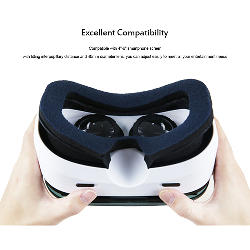 aaf209926748 Hot Sale VOX+ GEAR PLUS VR Headset Virtual Reality Headset 3D ...