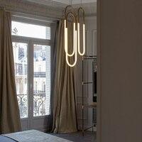 Livewin современный подвесной светильник led лампы золотой цвет абажур Обеденная Повесить светильники Кухня Освещение блеск avize светильник