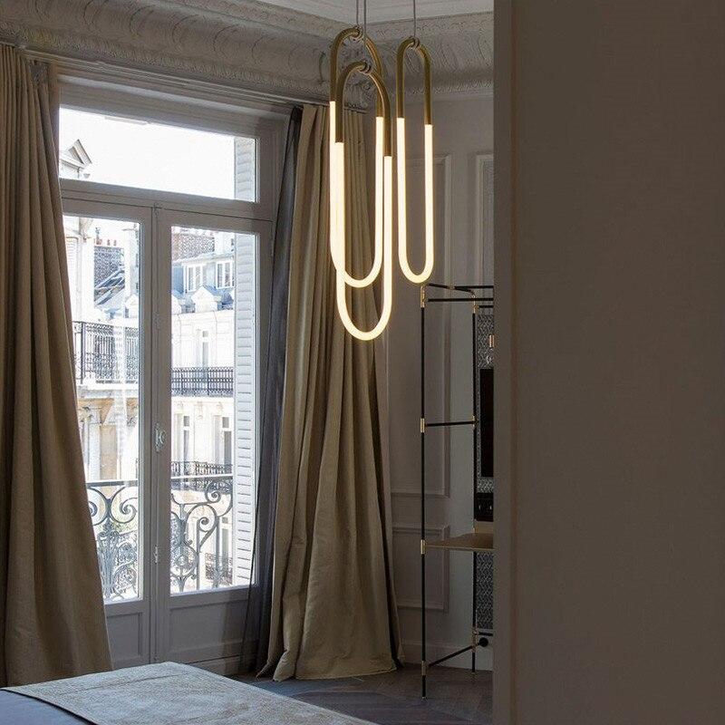 Livewin современный подвесной светодио дный светильник золотой цвет абажур столовая подвесные светильники кухня освещение блеск Avize светильн