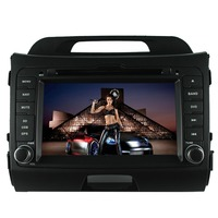 MTK3360 faster speed 512Mb RAM WINCE 6.0 car DVD player 1080P gps fit for KIA sportage r 2010 2015 RADIO BLUETOOTH navigation