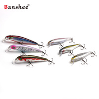 Banshee 6pcs/lot 100mm 16g Chilly Stick JR MNNW40 Floating Fishing Lure shallow diving Jerkbaits Minnow Hard Artificail Bait