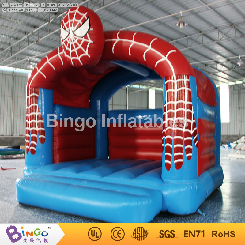 Free shipping spiderman inflatable trampolines bounce house Hot sales PVC Material inflable tramp for toys pvc 3 5 3 5 2 45m inflatable trampolines big trampolines inflatable slide water with free blower for sale inflatable pool toys