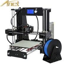 Анет A6 A8 автоматическое выравнивание/нормальный impressor 3D принтера RepRap Prusa I3 3D комплект принтера DIY Бесплатная 10 м нити 8 ГБ SD карты Инструменты