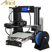 Anet A6 A8 Auto Leveling/Normal impressor 3D printer Reprap Prusa I3 3D Printer Kit DIY With Free 10M Filament 8GB SD Card Tools