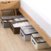 Storage Box Organizers Closet Bag Sweater T Shirt Storage Box Shoes Clothes Shoe Blanket Breathable Durable Container Under Bed