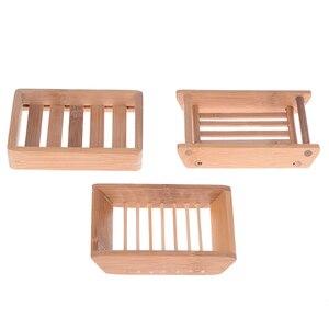 Креативный простой бамбуковый ручной дренаж для мыла, ванная комната, японский стиль, мыльница, портативная мыльница