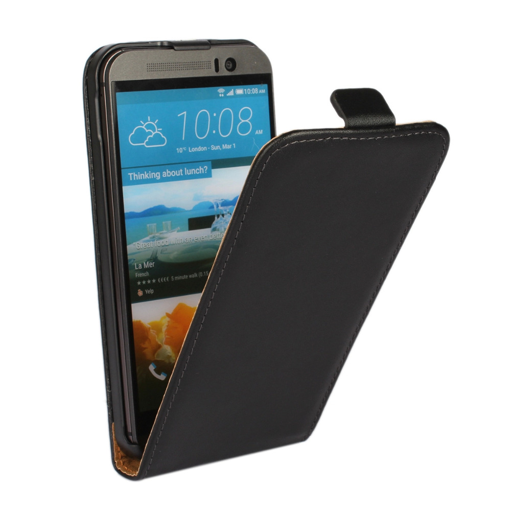 Genuine Leather Flip Case Cover For HTC Desire C 526 510 310 500 600 S Z520e One M7 M9 M8 Mini