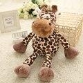Boneca Girafa Brinquedos de Pelúcia Decoração da Cópia do Leopardo Decoração Para A Família Do Bebê