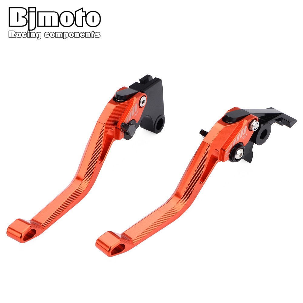 2Pcs Motocross CNC DIY Brake Clutch Lever For Ducati 899 959 Panigale 1199 1299 Panigale S Tricolor MONSTER 1200S Kawasaki H2 R in Levers Ropes Cables from Automobiles Motorcycles