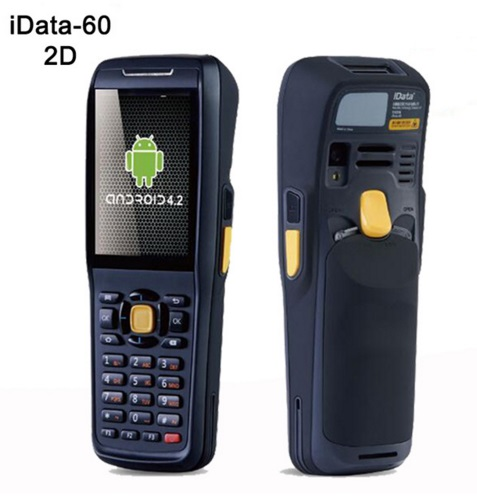 Wireless Android Data Terminal 1D,2D Laser Barcode Scanner Handheld Data Collector POS PDA with Bluetooth,3G, Wifi,GPS