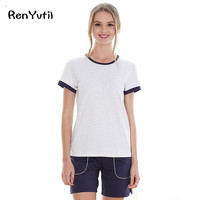 RenYvtil Summer Women Short Sexy Pajamas Tank Camisole Cami Set New Spring Summer Home Furnishing Clothing