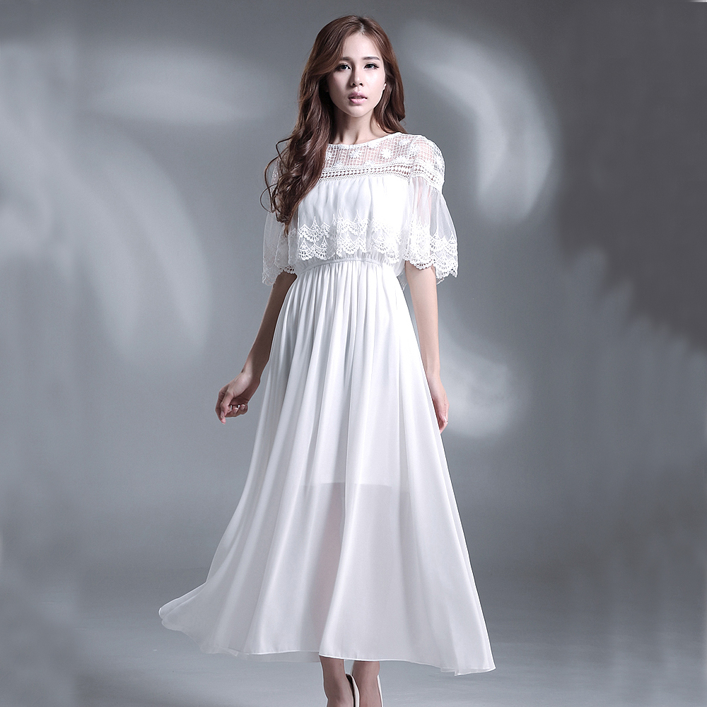Fine Elegant White Party Dresses Ideas - Wedding Ideas - memiocall.com