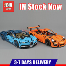 2018 DHL LEPIN 20001 20001B 20086 20086B Technic Modelo Kits de Construção Blocos Tijolos Do Brinquedo Carro de Corrida Esportes Compatível 42083 42056