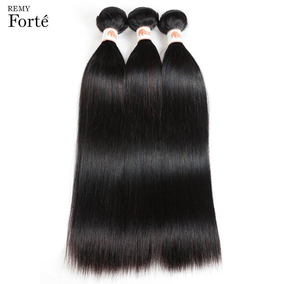 Remy Forte 30 Inch Bundles Hair Extension Brazilian Hair Weave Bundles Silky Straight Human Hair Bundles