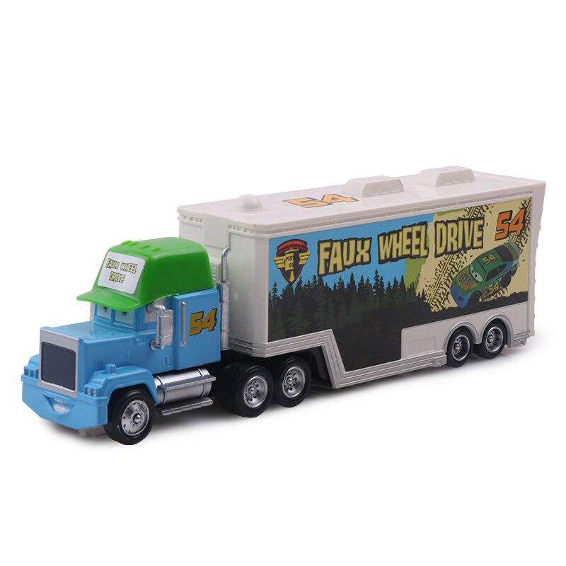 Дисней Pixar Тачки 2 3 игрушки Молния Маккуин Джексон шторм мак грузовик 1:55 литая модель автомобиля игрушка детский подарок на день рождения - Цвет: No.54