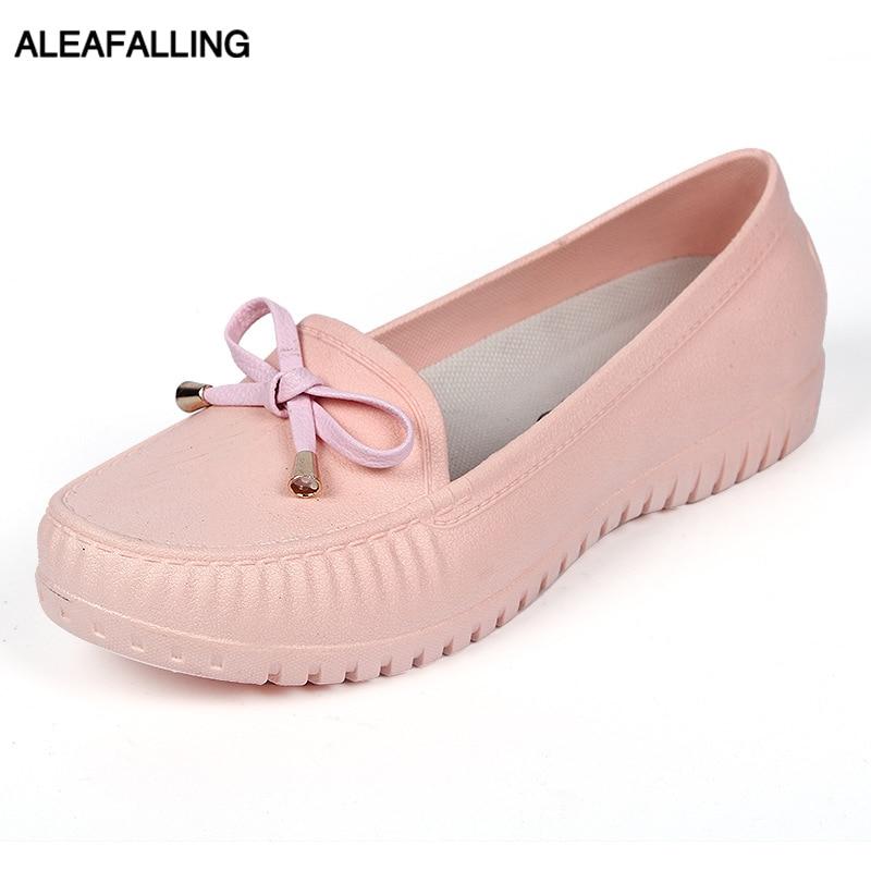 Aleafalling Women Rain Boots Waterproof