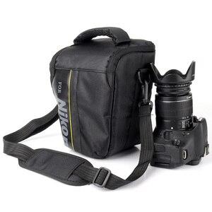 DSLR камера сумка чехол для Nikon P900 D90 D750 D5600 D5300 D5100 D7000 D7100 D7200 D3100 D80 D3200 D3300 D3400 D5200 D5500 D3100