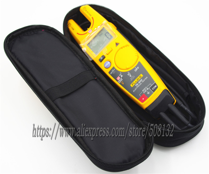 FLUKE T6 600 with Soft Case KCH16 Clamp Continuity Current Electrical Tester-in Clamp Meters from Tools    2