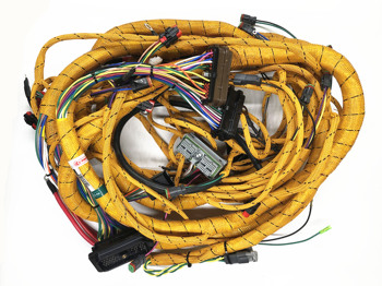 Fast Free shipping ! Cat excavator 320D External EFI Wiring Harness -320D exterior INJECTION wire line -cat 320D outside wire
