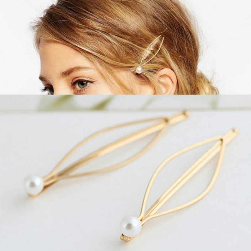 Olive Branch LeavesคลิปผมElegant Design Snap Barrette Hairpin Hairpinผมจัดแต่งทรงผมอุปกรณ์เสริมสวยเจ้าสาวHairpinคลิป