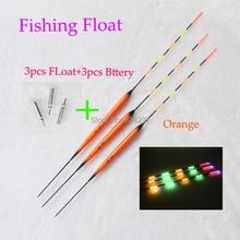 Hot 5 Full Luminous Electric Fishing Float Send CR425 Battery Deep Water Float Fishing Tackle Fishing Bobber,Fishing Floats