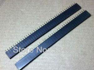 Image 4 - Gratis Shpping Hoge Kwaliteit 4000 Pinnen = 1*40 P 2.54 Toonhoogte Enkele Rij Vrouwelijke Pin Header Connector/ 40P 2.54 connector 100 stks/partij