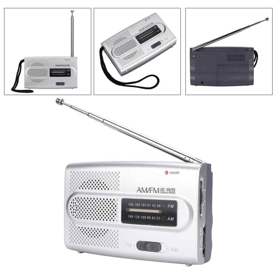 Digitale Radio Ontvanger Radio Speaker Draagbare Multi-Functionele Mini Pocket AM/FM Radio Speaker Ontvanger Telescopische Antenne Dab