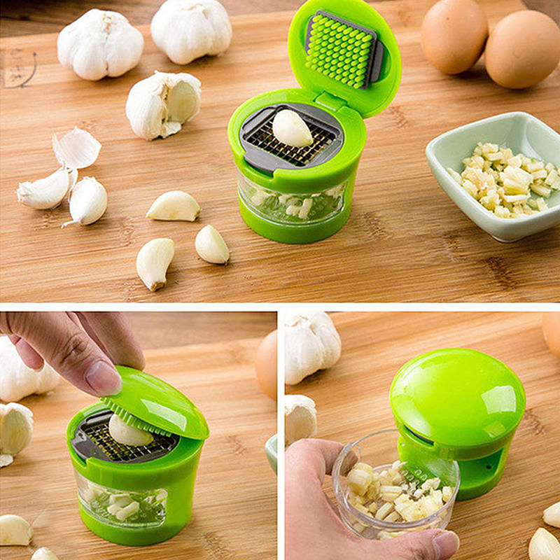 Kitchen Practical Gadgets Ginger Garlic Crusher Squeezer Masher Mini Cutter Cooking Tool Utensils Accessories
