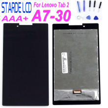 Starde For Lenovo Tab 2 tab2 A7-30HC A7-30 A7-30DC LCD Display Touch Screen Digitizer Sensors Glass Assembly  Parts цены