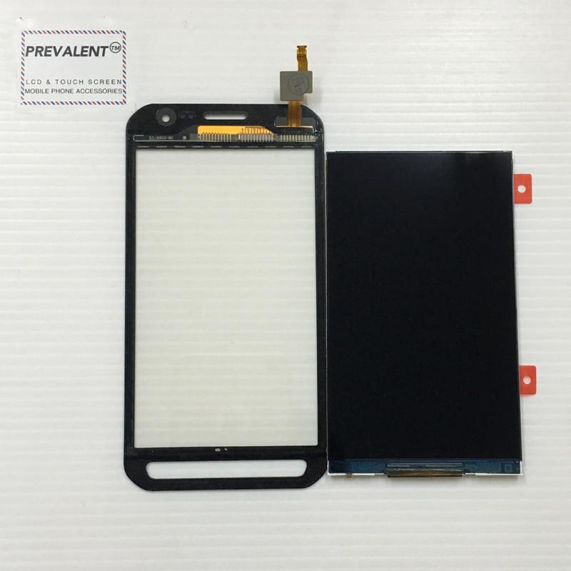Pour Samsung Galaxy Xcover 3 SM-G388F G388 G388F Écran Tactile Digitizer Capteur En Verre + LCD Panneau D'affichage