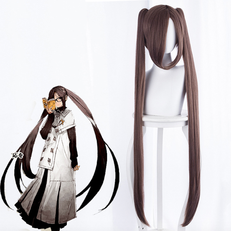 Game Fate Grand Order Cosplay Wig Akuta Hinako Cosplay Wig Heat Resistant Synthetic Wig Halloween Carnival Party Cosplay Wig