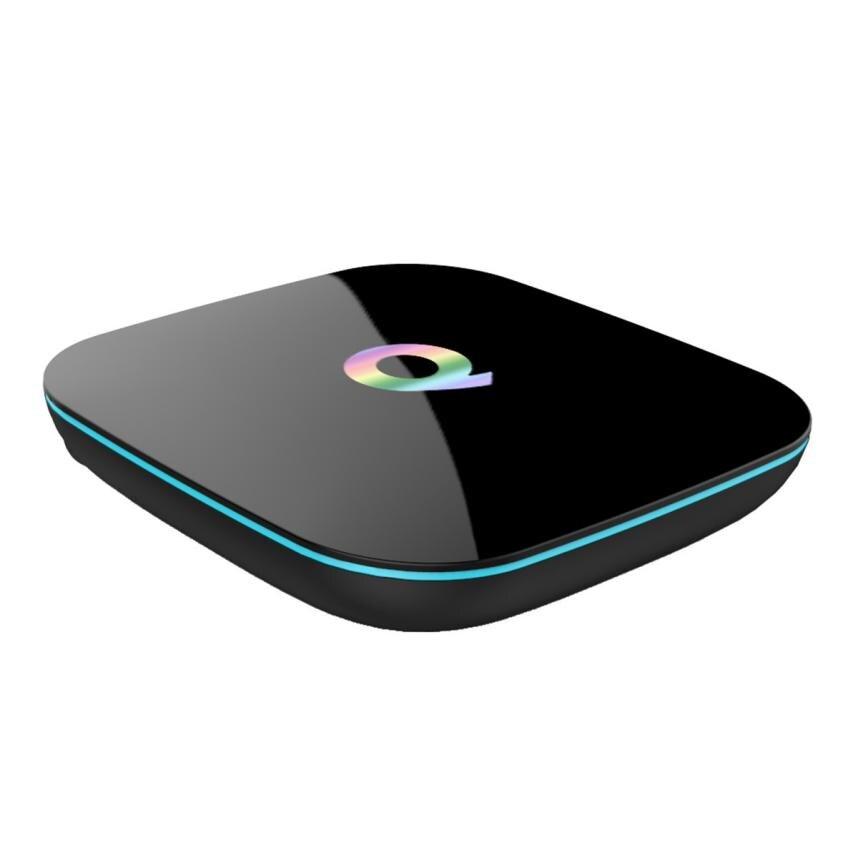 HIPERDEAL Equipments TV Receivers Set Top Box Quad Core Android 6.0[2GB/16GB/4K]Smart TV BOX Amlogic S905 Free I86 Keyboard jan5 hd 4kx2k s905 quad core 2 4ghz wifi