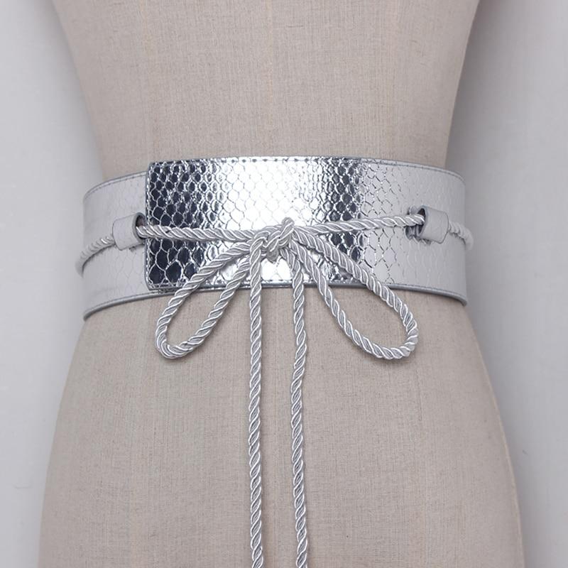 2019 Markë e nxehtë e modës Rripa për veshje për femra PU rrip - Aksesorë veshjesh - Foto 6