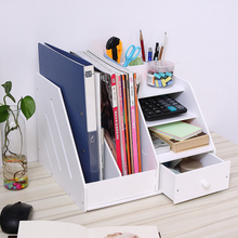 Аксессуары для стола, лоток для файлов, органайзер, Многофункциональный органайзер для канцелярских принадлежностей, коробка для документов, файл, книга, подставка, держатель для ручек, стеллаж для ящика