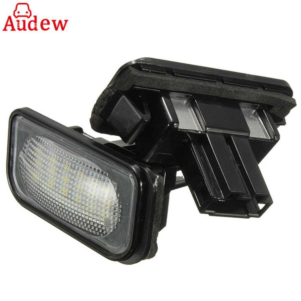 2Piece 18LED Car License Plate Light Lamp  For Mercedes/Benz W203 W211 W219 R171 2005-2010 ak ak56023 mercedes benz sl65 1 18 r c car toy silver
