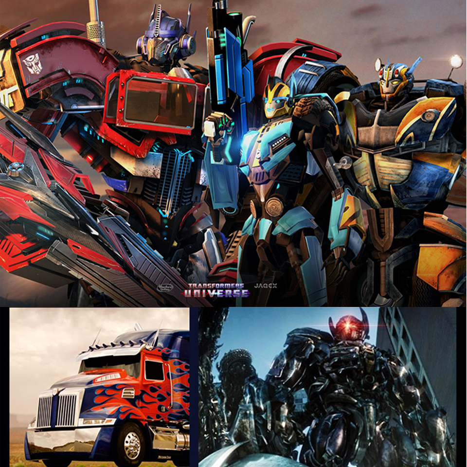 GuxenTransformer Autobots Decepticons 3D Creative Mood Lamp Color Change Night Light Child Kids Bedroom Deco Boys Xmas Gifts - 5